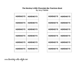Hershey's Multiplication Freebie