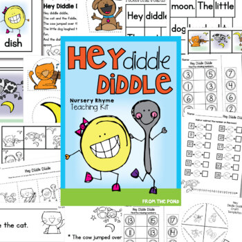 Hey Diddle Nursery Rhymes Teaching Kit