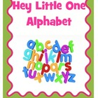 Hey Little One Alphabet Book
