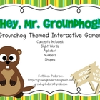 Hey, Mr. Groundhog! Interactive Games
