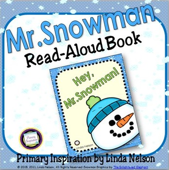 Hey Mr. Snowman! Read-Aloud Book