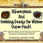 Hibernation & Animals In Winter Super Pack! Poems, Books,
