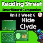 Hide Clyde! SmartBoard Companion Reading Street Kindergarten