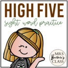 High Five! sight word practice