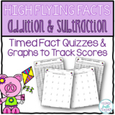 High Flying Facts - Addition and Subtraction Fact Quizzes