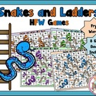 High Frequency Word Snakes-N-Ladders (1-200 Fry List)
