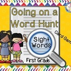 "High Frequency Words Card Game, ""Go Hunting"", Primer"