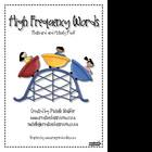 High Frequency Words Flashcard and Activity Pack