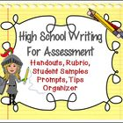 High School Writing for Assessments: The Writing Formula,