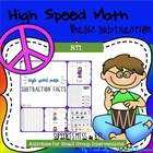High Speed Basic Subtraction Facts
