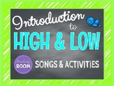 High and Low Music Intro Powerpoint