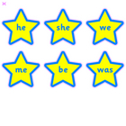 High frequency words on stars