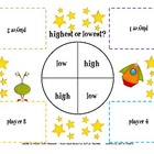 High/Low Game - Place Value (Tens and Ones)