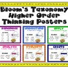 Higher Order Thinking Posters based on Bloom&#039;s Taxonomy