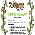 Highest Number - Place Value - Three Game Set