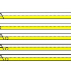 Highlighted Upper and Lower Case handwriting