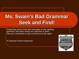 Hilarious Language Arts Powerpoint - Bad Spelling & Gramma
