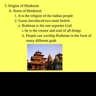 Hinduism Powerpoint