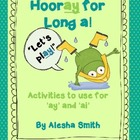Hip, Hip, Hooray!  Let&#039;s Play with Long a!