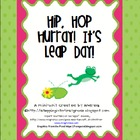 Hip, Hop Hurray! It&#039;s Leap Day! {a Mini-Unit to celebrate 