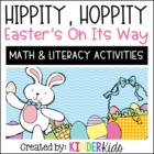Hippity, Hoppity, Easter&#039;s On It&#039;s Way (Math and Literacy 