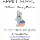 Hippity Hoppity Math and Literacy Centers!!!