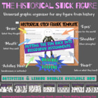 Historical Stick Figure - Biography Worksheet