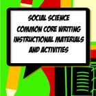 History Common Core Activities, Resources & Templates Grad