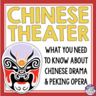 History of Chinese Theater :  Peking Opera