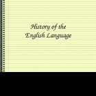 History of the English Language Power Point