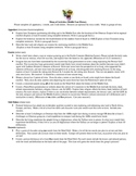 History of the Middle East (Menu Project) Tiered Assignment