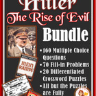 Hitler: The Rise of Evil  BUNDLE (Questions Set + Worksheets)
