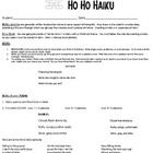 Ho Ho Haiku ---Christmas Writing Activity