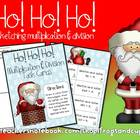 Ho! Ho! Ho! multiplication and division practice game