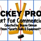 Hockey Sports Equipment Clip Art Graphics