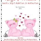 Hogs &amp; Kisses Double Digit Addition &amp; Subtraction