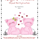 Hogs & Kisses Mixed Multiplication