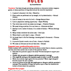 Holes: 12 Theme-Related Quotations + Teaching Ideas