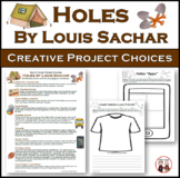 Holes Comprehension Project Choices and Rubric