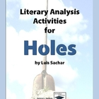 Holes Literary Analysis Activities