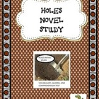 Holes Novel Study