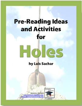 Holes Pre-Reading Activity Pack