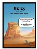 Holes Vocabulary