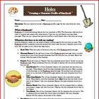 Holes by Louis Sachar Facebook Reading Comprehension Activity
