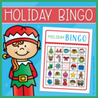 Holiday Bingo Set