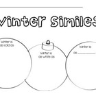 Christmas Ornament Simile Worksheet