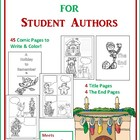 Holiday Comic Books for Student Authors