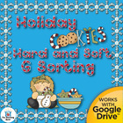 Holiday Cookie Hard G and Soft G Sorting Literacy Center~C