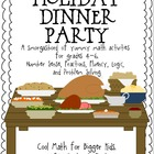 Holiday Dinner Party Super Pack: Math Operations, Problem