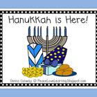 Holiday Emergent Reader - Hanukkah is Here